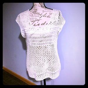 Converse Knit oversized sleeveless top
